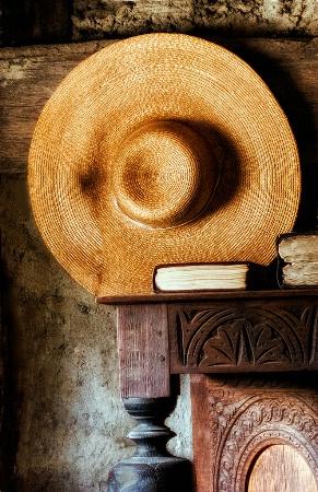 Still Life With Straw Hat