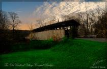 The Old Bedford Billage Covered Bridge...