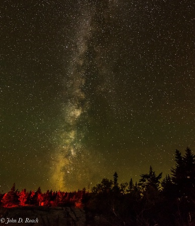 Milky Way at Cadillac Mountain