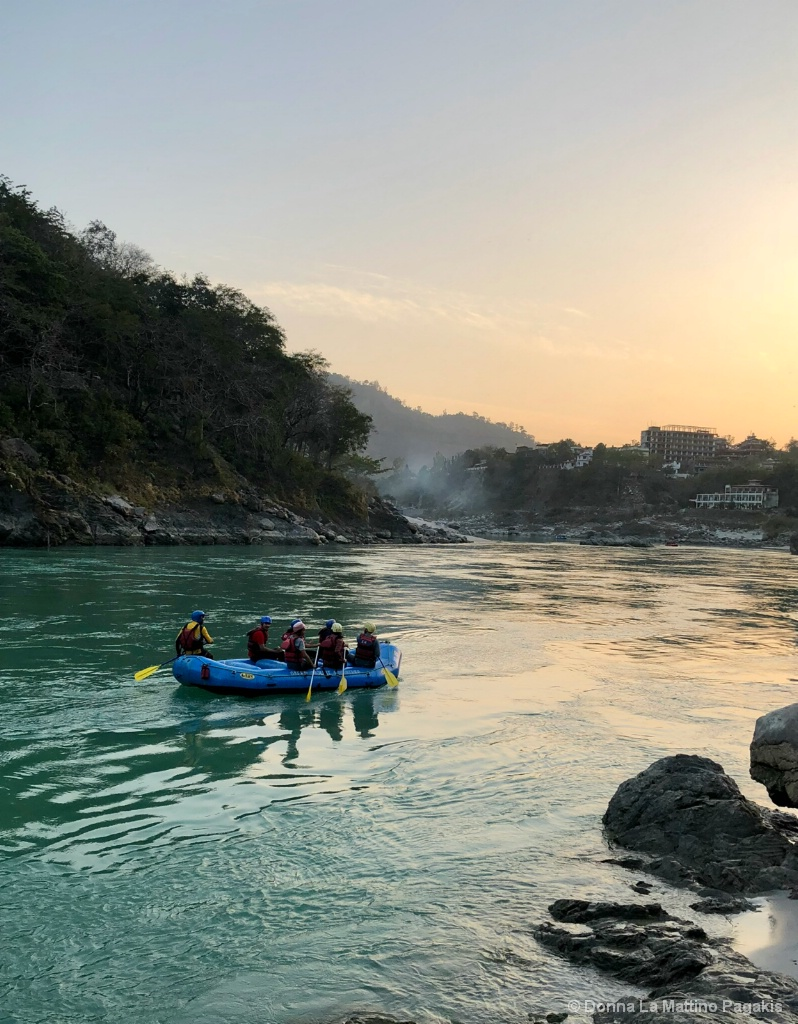 River Rafting on the Ganges