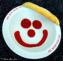 French Fries Make me Smile