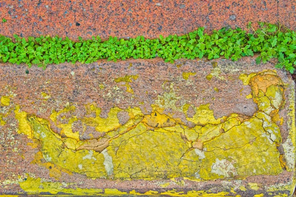Santa Fe Abstract - I - ID: 15524470 © Marilyn Cornwell