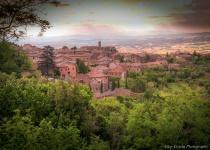 Cityscape in Tuscany