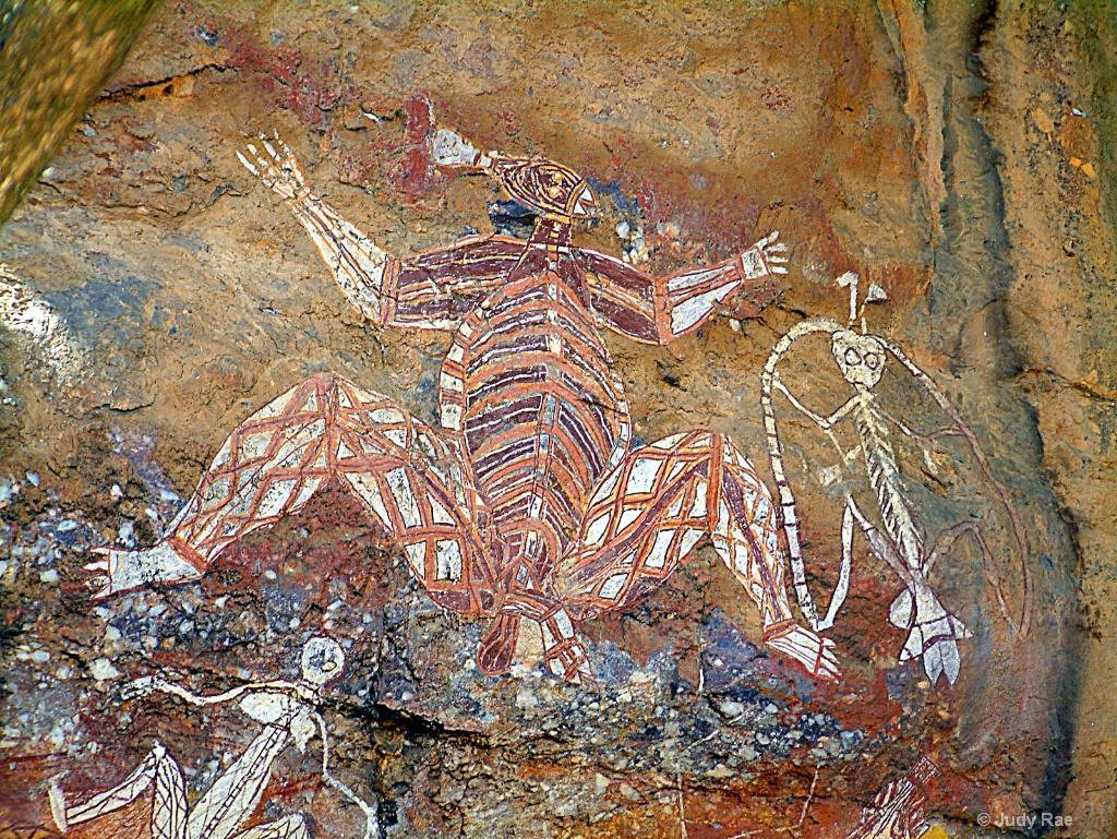 Aboriginal Rock Art 3 - ID: 15531077 © Judy Rae