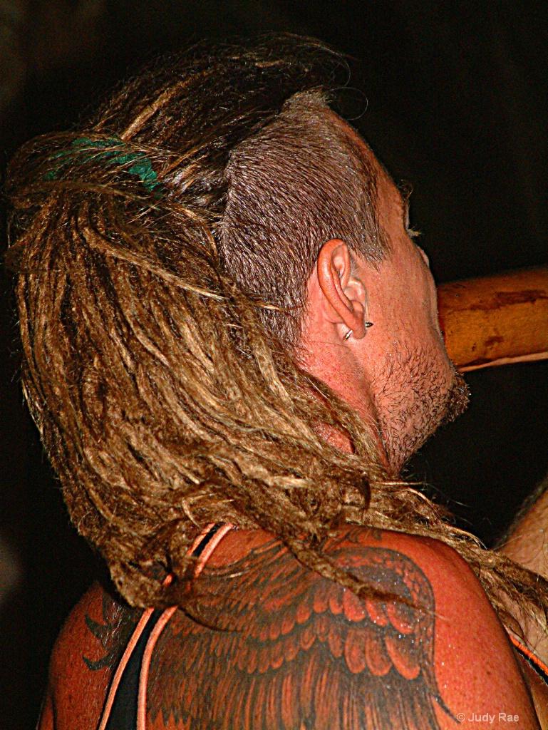 The Didgeridoo Player - ID: 15531080 © Judy Rae