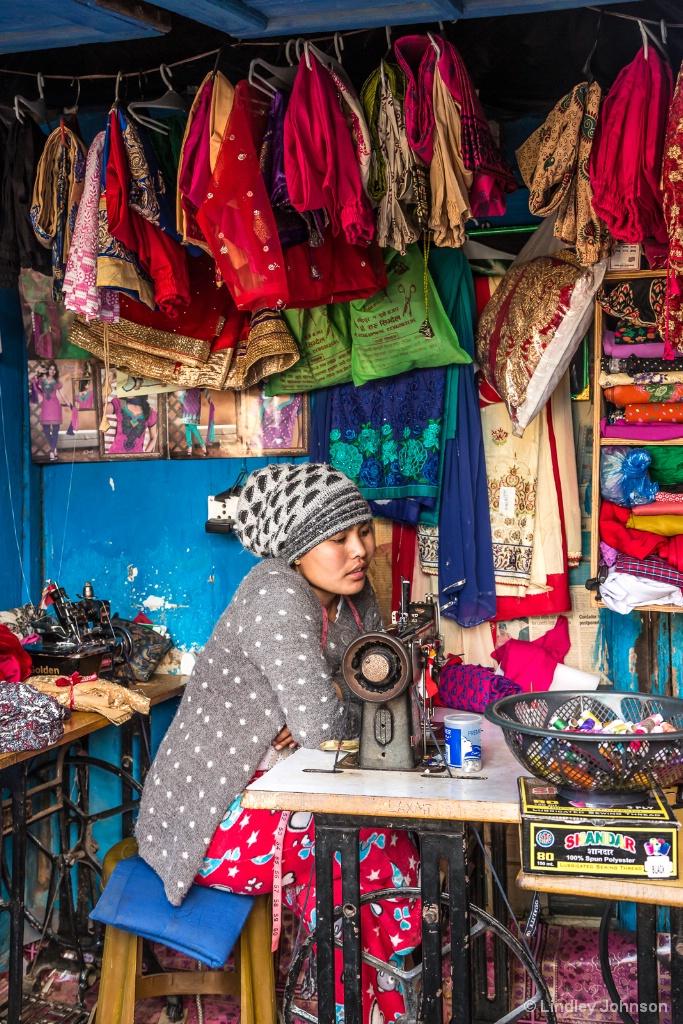 Nepali Seamstress