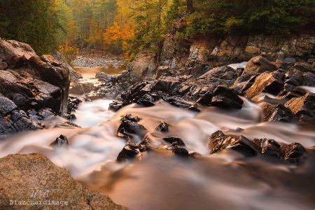 Early Morning Sunrise Split Rock Falls