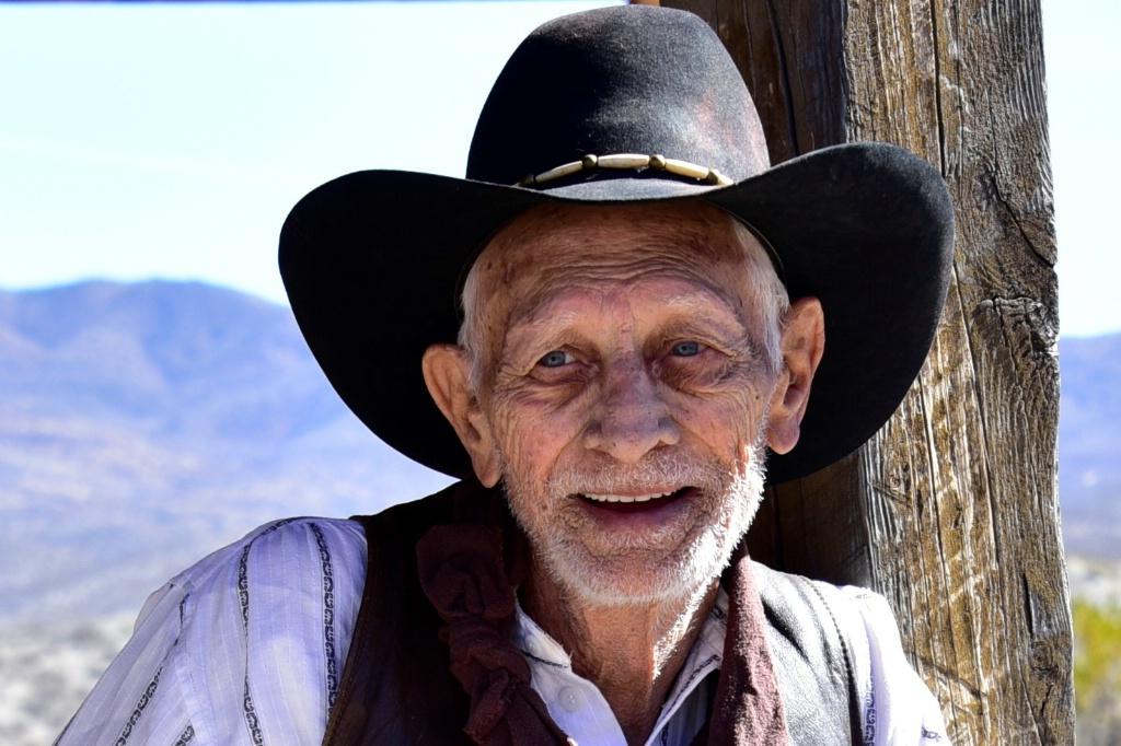 Old Time Cowboy - ID: 15542145 © William S. Briggs