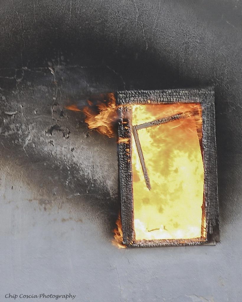Fire In The Window - ID: 15542967 © Chip Coscia
