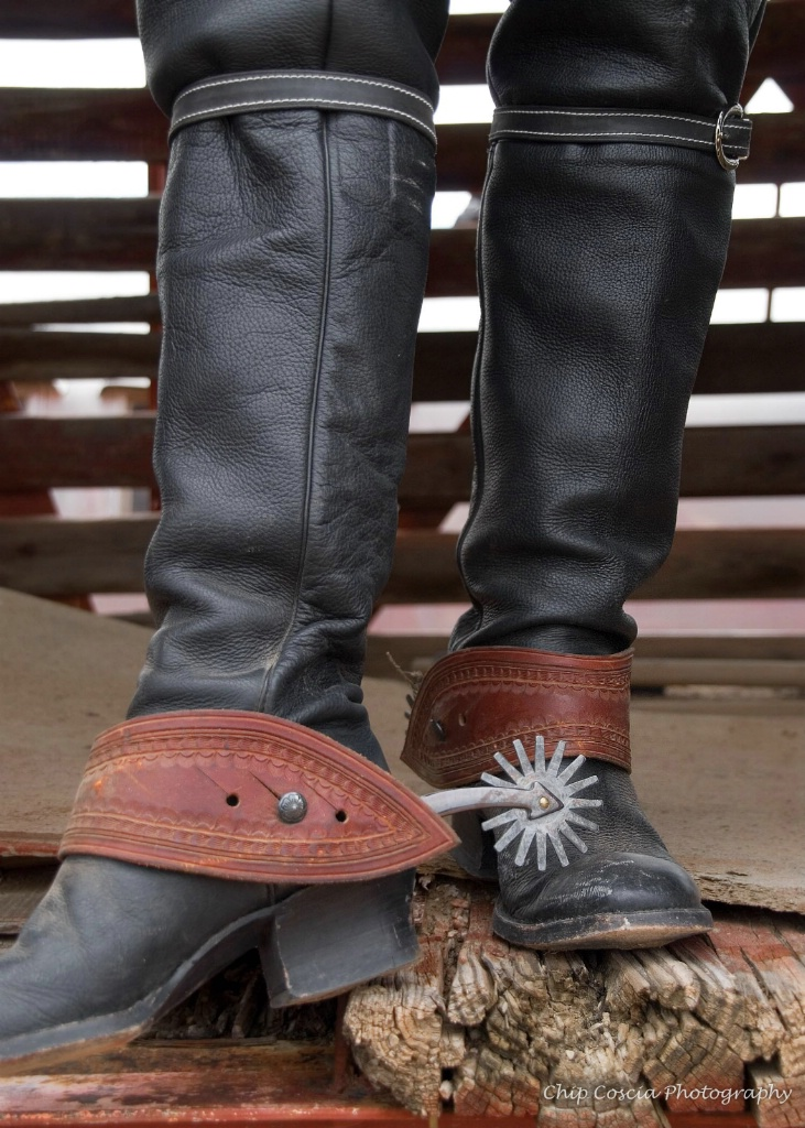 Boots and Spurs - ID: 15543440 © Chip Coscia
