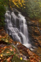 Soco Falls, Cherokee, North Carolina