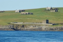 Abandon Homes and Church Island of Stroma