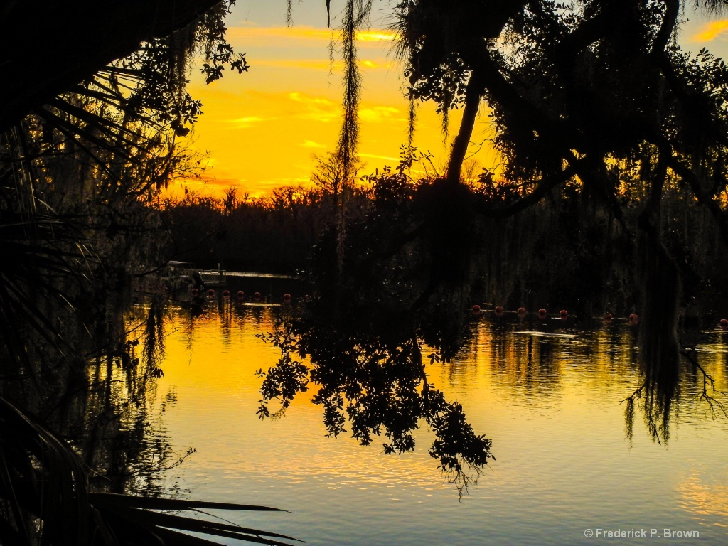 Blue Springs Sunset - ID: 15546500 © Frederick P. Brown