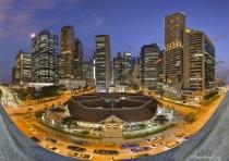 Pano: Singapore Cityscape