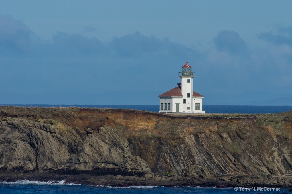 Cape Arago Lighthouse - ID: 15547417 © TERRY N. MCCORMAC
