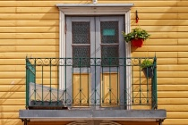Greenhouse On A Balcony
