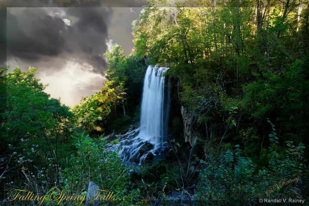 Falling Spring Falls...