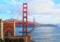 Early Morning at Golden Gate Bridge