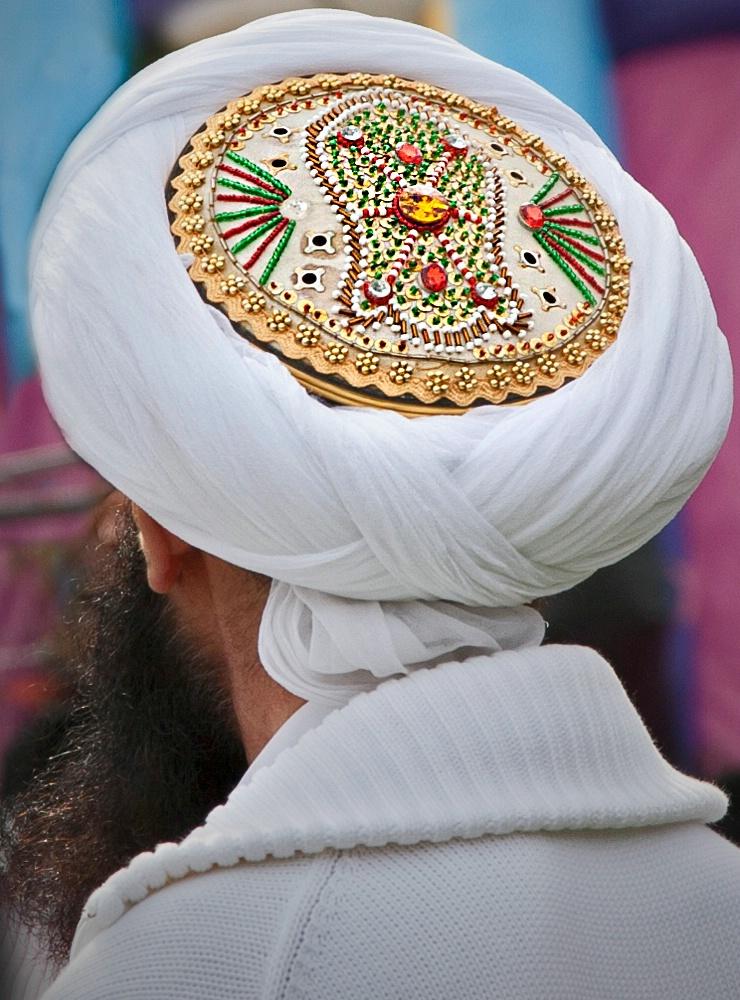 Exotic Indian turban!