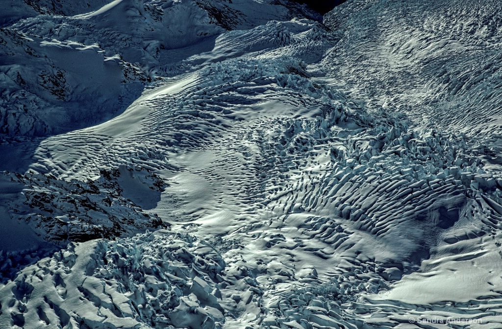 Patterns Of The Glacier