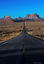 Approaching Monument Valley from the East