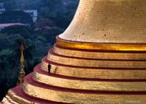 Pagoda terrace passage way