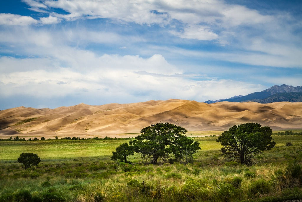 Great Sand Dunes - ID: 15559215 © Jim E. Anderson