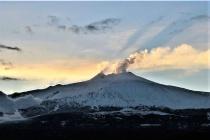 Mt. Etna Sunset