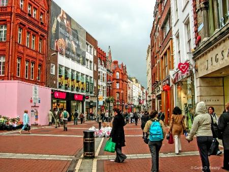 Downtown Dublin, Pedestrians Only