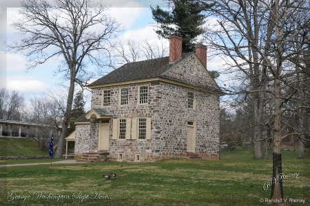 George Washington slept here!!!