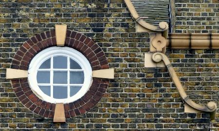 Attic window, London