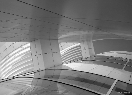 Getty design, Los Angeles