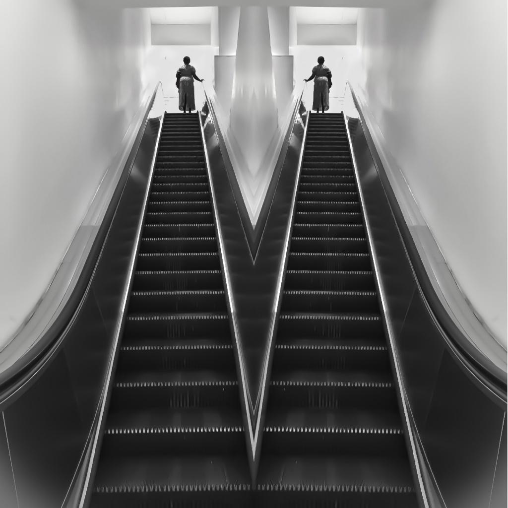 Twin Escalators