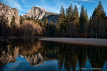 Reflection of Half Dome