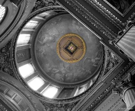 Ceiling design, London