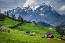 Stanzerhorn-Swiss Countryside