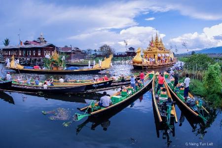 Phaung Taw Oo Pagoda Festival