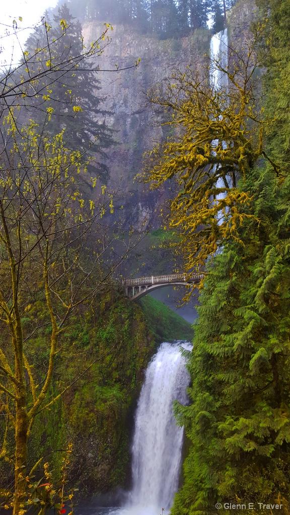 Multnomah Falls Spring Flow