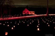 Illumination of Antietam Battlefield