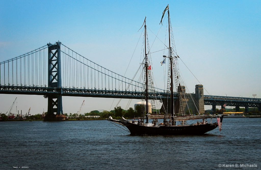 Schooner on the Delaware - ID: 15580425 © Karen E. Michaels