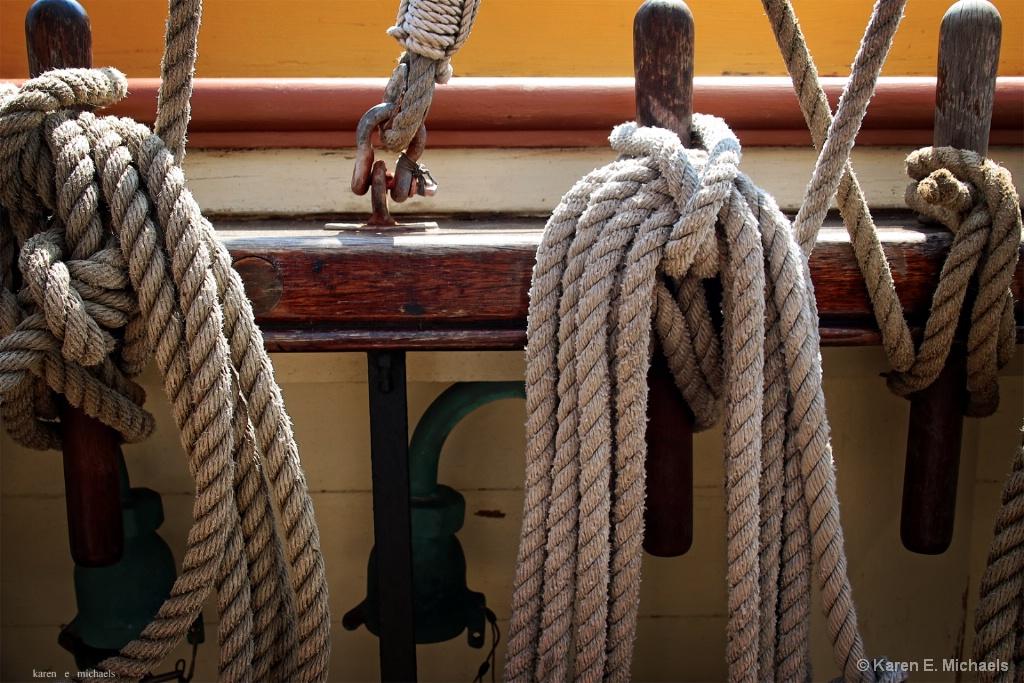 tied up in knots - ID: 15582063 © Karen E. Michaels