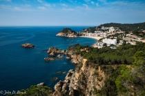 Overlooking Tossa de Mar, Spain