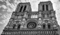 Towers of Notre Dame Cathedral Paris