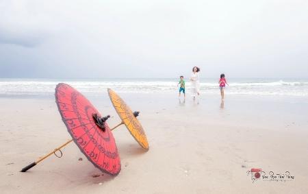 Beach Happy action