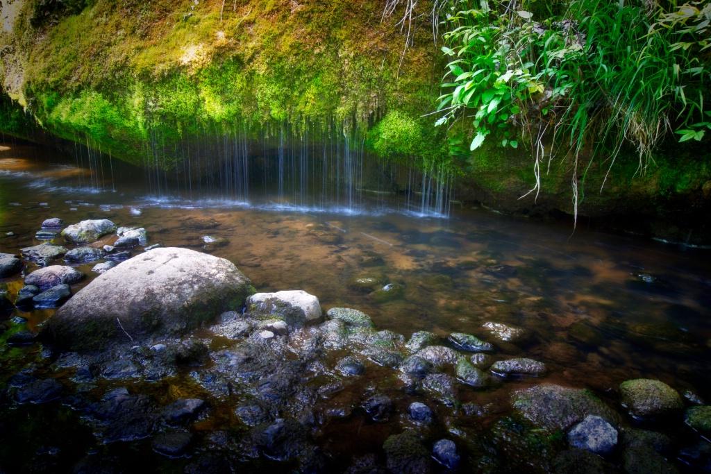 Raunas waterfall