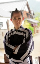 Young Actor in Kimono