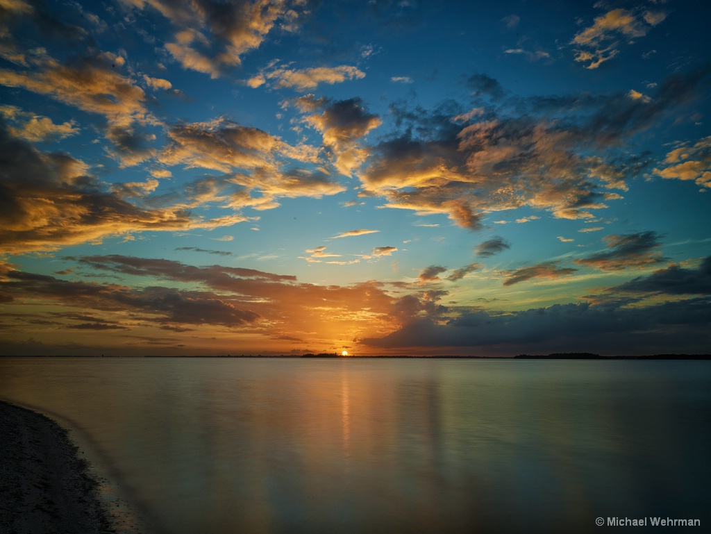 Sunset over Sanibel - ID: 15586340 © Michael Wehrman