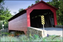 Covered Bridge on Old Fredrick Rd