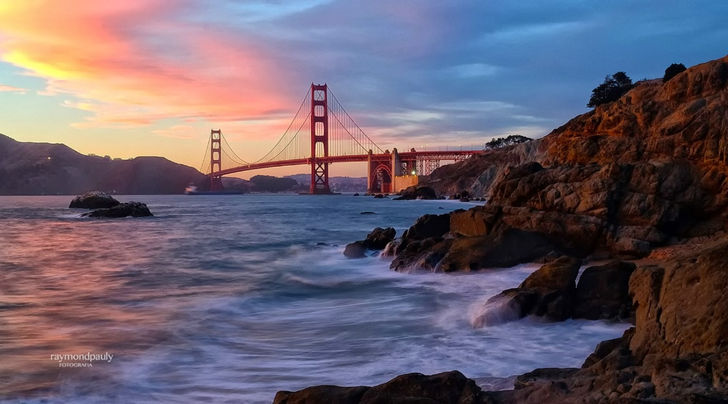 Golden Gate Sky Colors