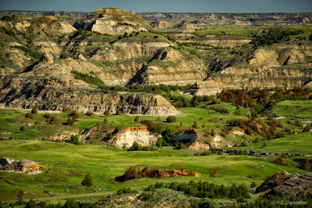 View from Buck Hill - North Dakota - ID: 15587755 © KC Glastetter